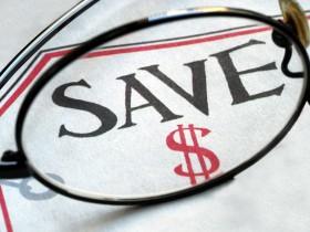 Focus on saving money