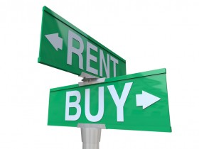 Buying Vs Selling Two-Way Street Sign
