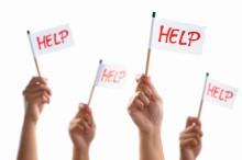 Group who need help