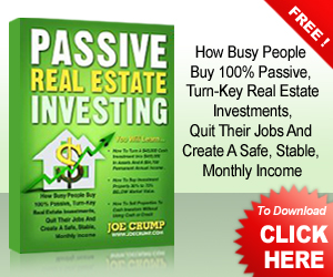 Passive Real Estate Envesting e-book