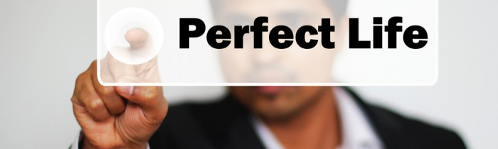 Male Professional Choosing Perfect Life