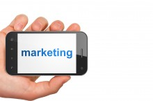 Marketing concept: Marketing on smartphone