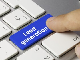 Lead generation. Keyboard