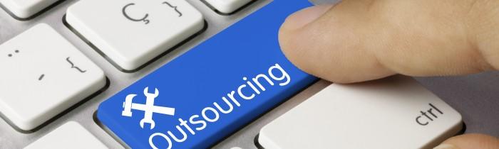 Outsourcing keyboard key. Finger